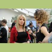 Ольга Сумская на открытии бутика Michal Negrin