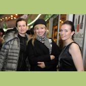 Ирина Новикова и Наталия Осадчук на церемонии открытия бутика Michal Negrin